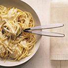 Spaghetti à la crème