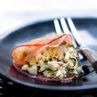 Tartare de crabe, radis mariné
