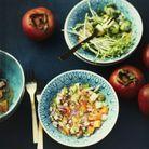Tartare de légumes et kakis