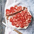 Tarte aux fraises express sans cuisson