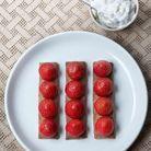 Tarte aux fraises minute