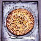 Tarte fine aux pommes et vanille
