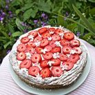 Tarte flan, fraise et fleur d'oranger de Christophe Michalak