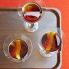 The perfect manhattan au bourbon