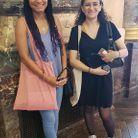 Melissa, 21 ans, étudiante en journalisme et Sarah, 21 ans, étudiante en droit