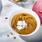 Baba ghanoush de courgettes et yaourt de brebis