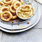 Calamars frits à la noix de coco