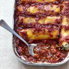 Cannellonis au tofu et épinards
