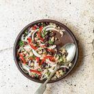 Ceviche aux haricots et quinoa