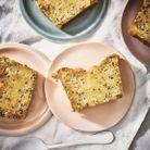 Gâteau moelleux à la vanille et aux graines de chia