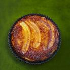 Gâteau renversé aux bananes