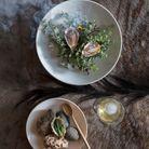 Huîtres de la baie de Saldanha en deux façons