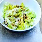 Salade césar aux sardines fumées