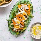 Salade de poulet à la mimolette