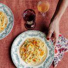 Spaghettis faciles à la poutargue