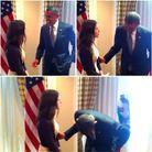 Elle a fait rire Barack Obama