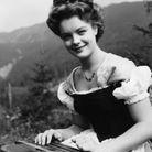En 1955, elle est Sissi