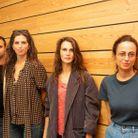 Henri Noel Tabary, Maïwenn, Marine Vacth et Anne Berest venus présenter le film ADN