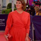 Mounia Meddour sur le tapis rouge du Festival
