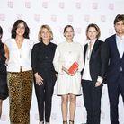 Constance Benqué (ELLE), Florence Ben Sadoun (ELLE), Nicole Garcia, Marion Cotillard, Françoise-Marie Santucci (ELLE), Philippe d'Ornano (SISLEY)