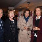 Alain Terzian, Nathalie Baye, Elisabeth Tanner (Time Art) et Anne Fontaine