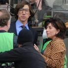 Adam Driver et Lady Gaga sur le tournage