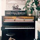 « Le piano de Vincent sans Vincent mais avec Martin Parr que j'aime beaucoup. »