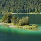 Lac d'Eibsee, en Allemagne