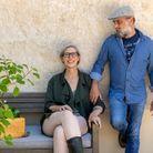 Cybèle et Frank Idelot, un couple à la fibre green.