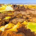 Le volcan Dallol, en Ethiopie