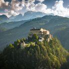 Le Château de Hohenwerfen, en Autriche