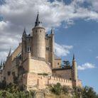 Le Château de Ségovie, en Espagne