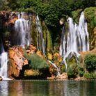 Les chutes de Kravica, en Bosnie Herzégovine