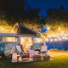On glamping-van sous les étoiles
