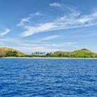 L'archipel Mamanuca vu de l'océan.