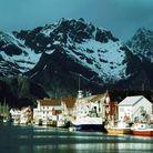 Le village de pêcheurs de Henningsvaer, où l'on peut déguster de délicieux poissons séchés.