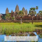 Le temple d'Angkor Wat au Cambodge