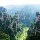 Le parc de Zhangjiajie, en Chine