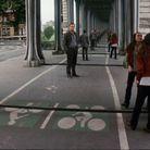 Le pont de Bir-Hakeim, à Paris 15e