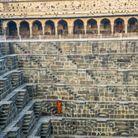 Le puits du Chand Baori, en Inde