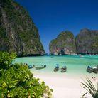 Plage Thaïlande sauvage : la plage Maya Bay