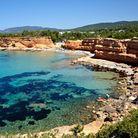 Es Bol Nou, sur l'île d'Ibiza (Espagne)