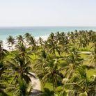Se baigner dans l'Océan indien
