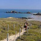 Le sentier des douaniers, en Bretagne