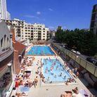 Plonger dans une piscine à ciel ouvert