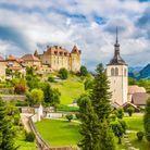 Gruyère, en Suisse