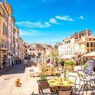 Aix en Provence, en France