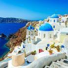 Ile de Santorin, en Grèce