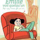 « Emilie voit quelqu'un, tome 2 » de Théa Rojzman et Anne Rouquette (Fluide Glacial)