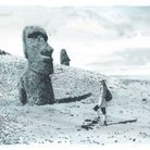 Travel Book Vuitton Ile de Paques  P 73 Easter Island, Rano Raraku Quarry